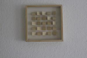 """Klaus Staudt, """"1:2:2"""", Unikat, 1977"""