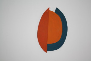 "WVZ 1-7-10, Acryl auf Sperrholz, ""Arabella I"", 2010, 60 x 39,5 x 2"