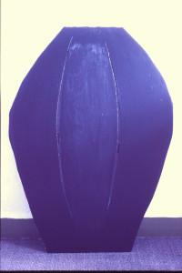 """WVZ 3-11-85, Acryl auf Spanplatte, """"Der Hund"""", 1985, 65 x 90"""