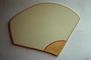 WVZ 7-5-86, Acryl auf Spanplatte, - , 1986, 85 x 55