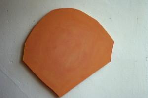 WVZ 10-6-86, Acryl auf Spanplatte, - , 1986, 58 x 57