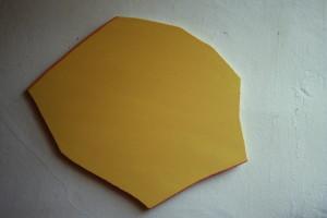 WVZ 17-6-86, Acryl auf Spanplatte, - , 1986, 60 x 57