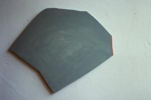 """WVZ 4-7-86, Acryl auf Spanplatte, - , 1986, """"Macumba-Huhn"""", 65 x 53"""