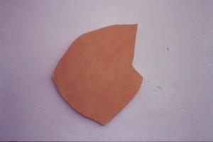 """WVZ 1-12-86, Acryl auf Spanplatte, """"vegetativ"""", 1986, 45 x 50"""