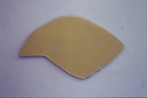 WVZ 4-1-87, Acryl auf Spanplatte, - , 1987, 77 x 45