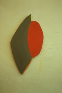 "WVZ 2-3-87, Acryl auf Spanplatte, ""Don Juan"", 1987, 39 x 70"
