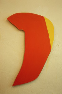 "WVZ 3-4-87, Acryl auf Spanplatte, ""Isabell"", 1987, 60 x 80"