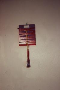 - , Acryl auf Holz, Klebeband, Pinsel, (90-er Jahre - ?), -
