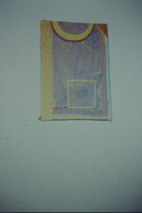 WVZ 1-5-92, Acryl auf Wellpappe, - , 1992, 24 x 32,5