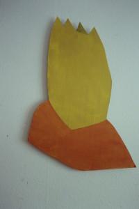 WVZ 9-2-93, Acryl auf Wellpappe, - , 1993, 60 x 88