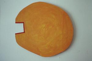 WVZ 8-2-93, Acryl auf Wellpappe, - , 1993, 71 x 73