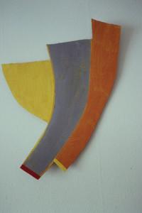 WVZ 16-2-93, Acryl auf Wellpappe, - , 1993, 34 x 66