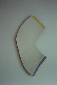 "WVZ 9-3-93, Acryl auf Wellpappe, ""geknickt"", 1993, 53 x 78"