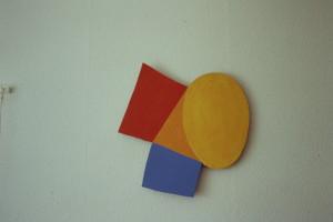 "WVZ 29-3-93, Acryl auf Wellpappe, ""Osterlamm"", 1993, 47 x 52"