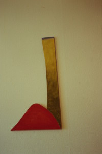 "WVZ 2-4-93, Acryl auf Wellpappe, ""Bergwerk"", 1993, 43 x 78"