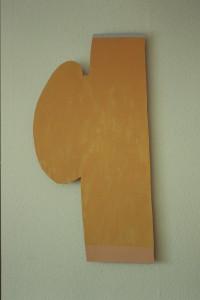 WVZ 4-4-93, Acryl auf Wellpappe, - (Junge - Mädchen), 1993, 42 x 83,5