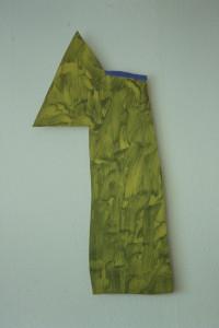 WVZ 6-4-93, Acryl auf Wellpappe, - , 1993, 41 x 90