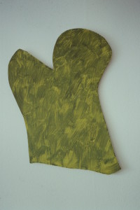 "WVZ19-4-93, Acryl auf Wellpappe, ""Baum oder Kaktus"", 1993, 80 x 86"