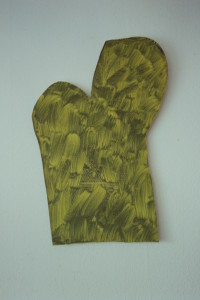 "WVZ 18-4-93, Acryl auf Wellpappe, ""Naturstück"", 1993, 55 x 83,5"