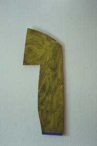 WVZ 26-4-93, Acryl auf Wellpappe, - , 1993, 34 x 91