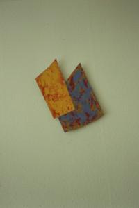 WVZ 46-4-93, Acryl auf Wellpappe, - , 1993, 34 x 42