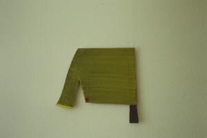 """WVZ 48-4-93, Acryl auf Wellpappe, """"kleiner Elefant"""", 1993, 43,5 x 41"""