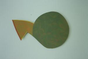 WVZ 5-5-93, Acryl auf Wellpappe, - , 1993, 73 x 48