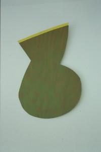 "WVZ 12-5-93, Acryl auf Wellpappe, ""Amphore"", 1993"