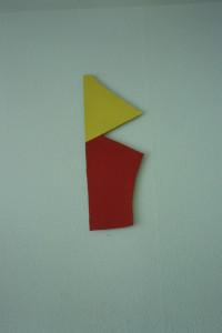 WVZ 16-5-93, Acryl auf Wellpappe, - , 1993, 20,5 x 56