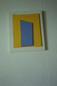 WVZ 42-5-93, Acryl auf Wellpappe auf Holz, - , 1993, 28,5 x 35