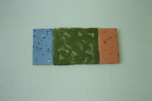 WVZ 3-6-93, Acryl auf Wellpappe, - , 1993, 45 x 20,5