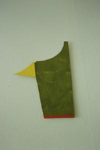 WVZ 7-6-93, Acryl auf Wellpappe, - , 1993, 31 x 42