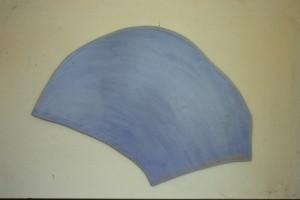 WVZ 9-5-86, Acryl auf Spanplatte, - , 1986, 96 x 56