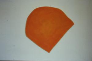 """WVZ 12-5-86, Acryl auf Spanplatte, """"Göschenen I"""", 1986, 62 x62"""