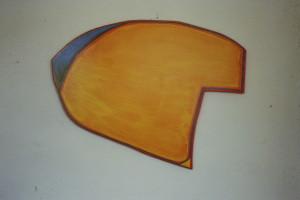 WVZ 6-5-86, Acryl auf Spanplatte, - , 1986, 75 x 63
