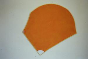 """WVZ 14-5-86, Acryl auf Spanplatte, """"Kopf"""", 1986, 70 x 75"""
