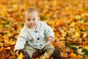 Baby 1 - Laub