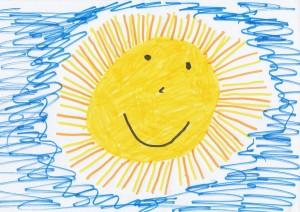 Zeichnung Sonne
