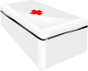 weiße Box