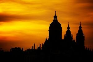 Kirche - Sonnenuntergang