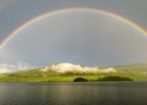 Regenbogen, Insel