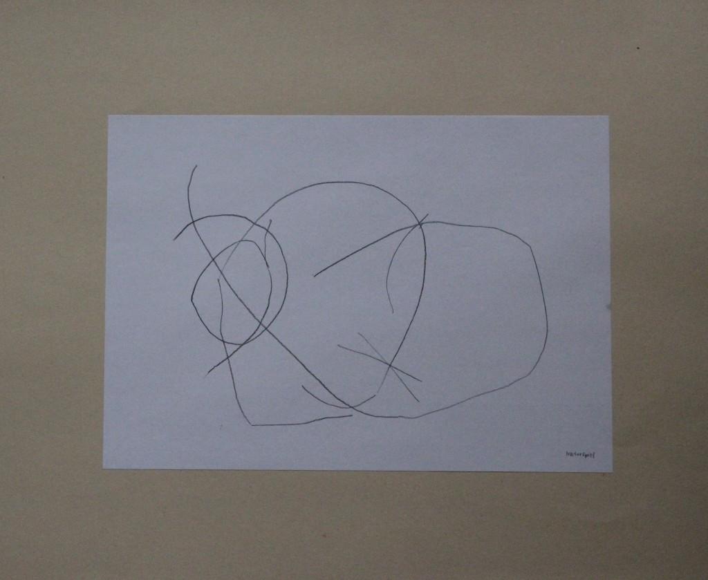 Naturspiel, Feder/Tusche auf Papier, 80-er Jahre, 29,7 x 21