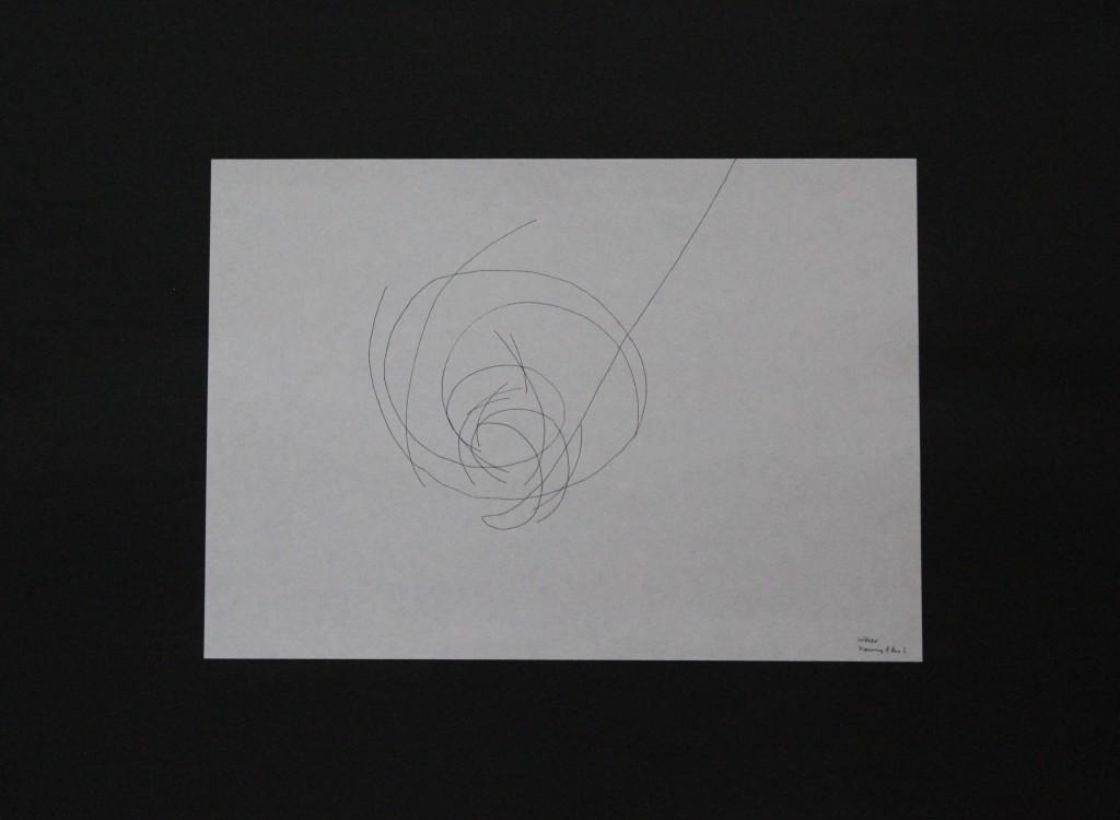 Woher kommst du?, Feder/Tusche auf Papier, 80-er Jahre, 29,7 x 21