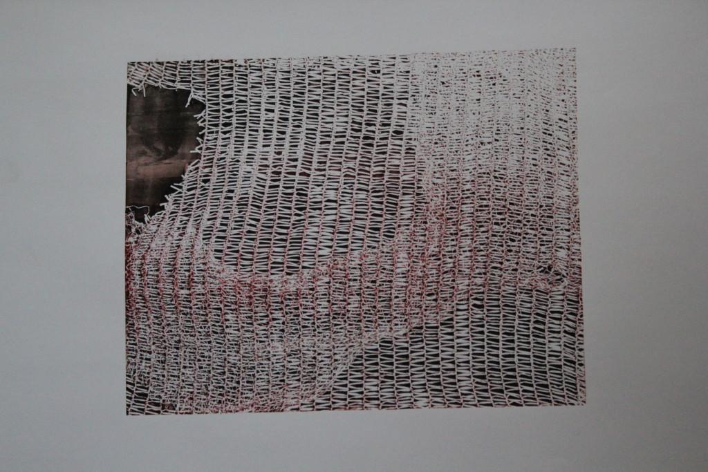 Siebdruck, Anfang 80-er Jahre, 38 x 30