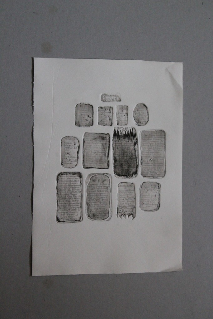 Ernte, Radierung, 80-er Jahre, 27 x 37,5
