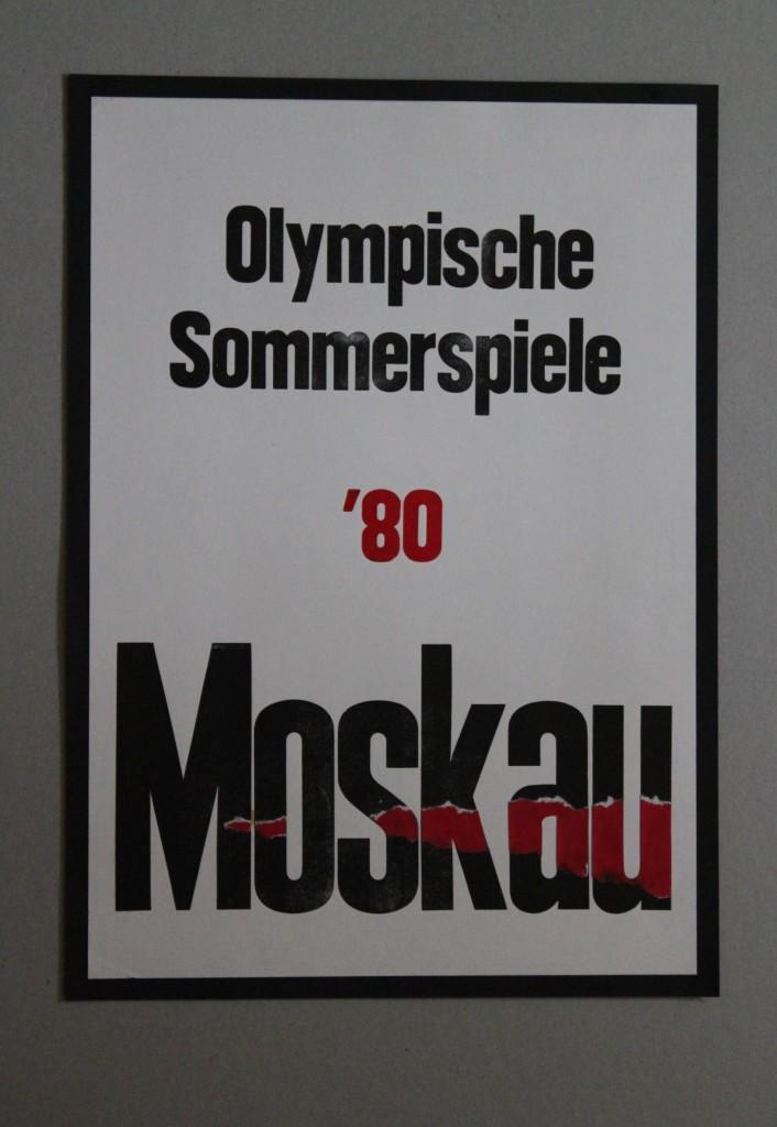 Plakat, Anfang 80-er Jahre, 29,5 x 42