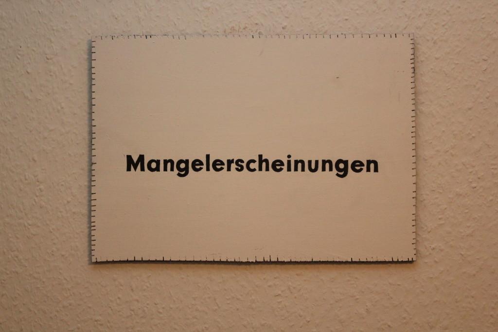"""WVZ 2-11-18, Acryl, Faserstift auf Sperrholz, """"Objekt: """"Mangelerscheinungen"""", 2018, 38 x 26,5"""