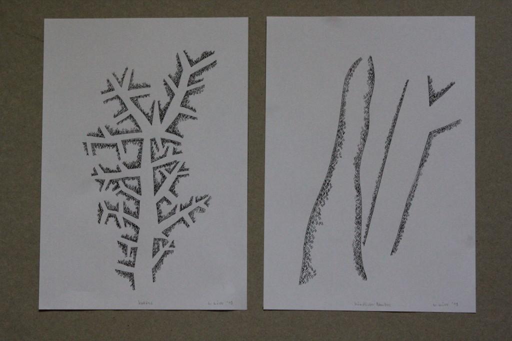 """""""Kaktus""""/""""künstlicher Bambus"""""""