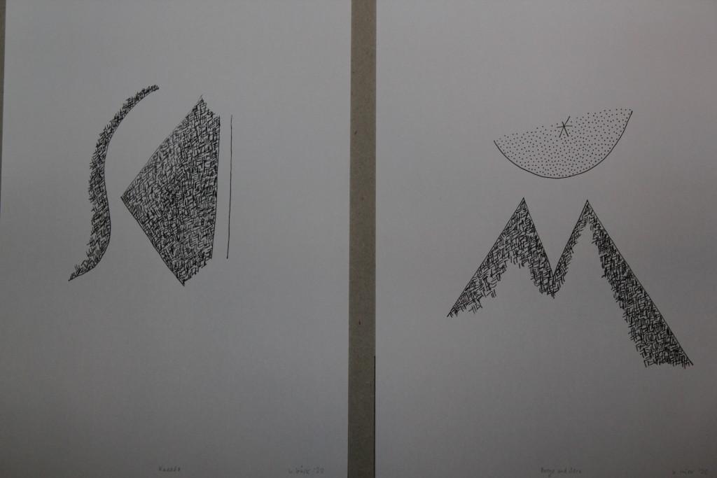 Kanada/Berge und Stern