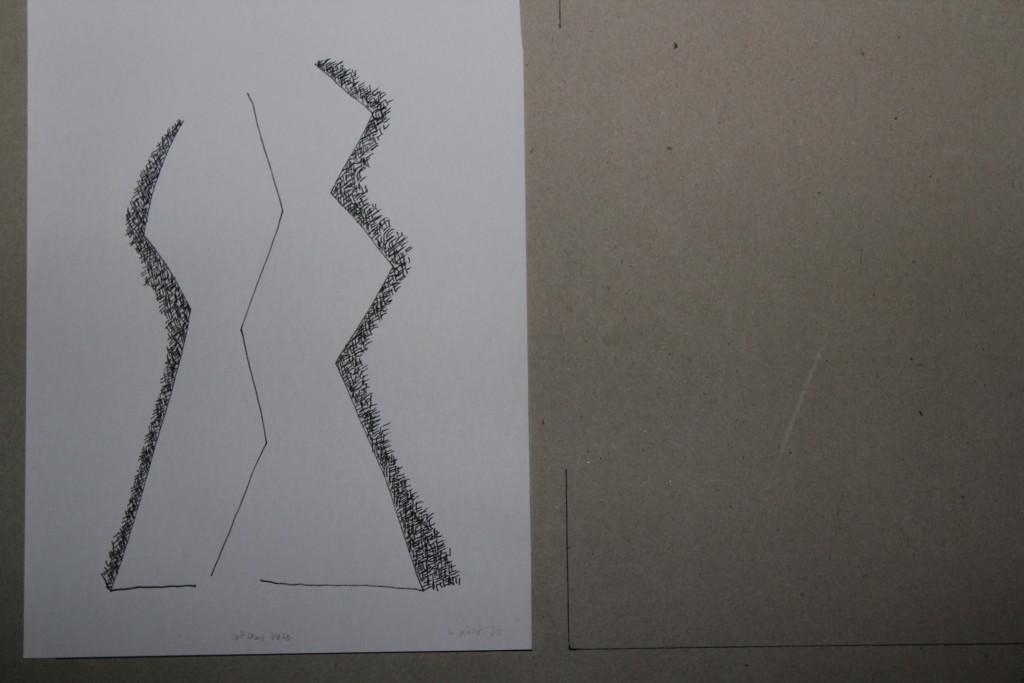 seltsame Vase